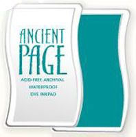 Ancient Page Ink Pad - Turquoise