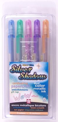 Gelly Roll Silver Shadow Set 5 pack