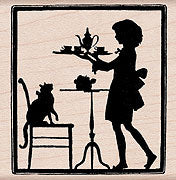 Tea Time Silhouette