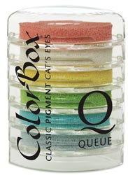 Cat's Eye Queue Pigment Ink Pads - Rainbow Sherbert