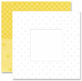 Simply Square Embossing Note Card Sets - Straw Hat
