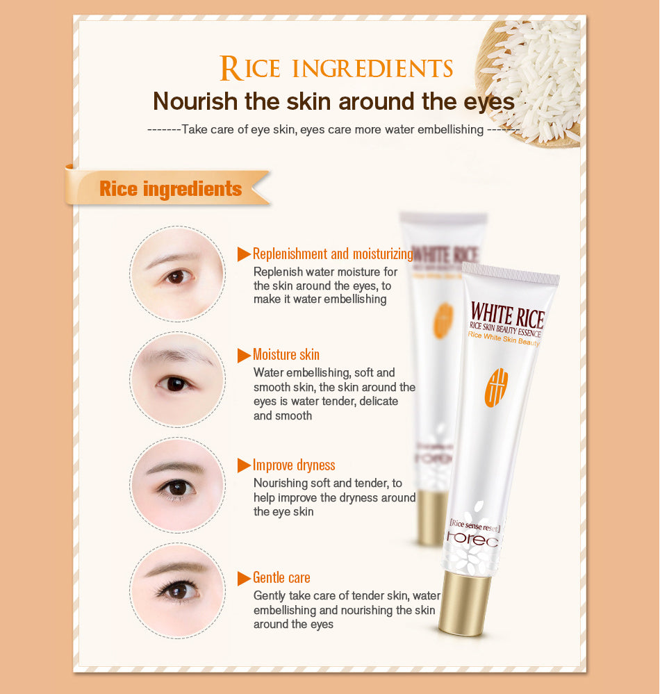 White Rice Essence Eye Cream