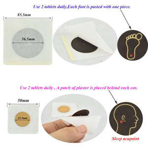 Chinese Herbal Accupoint Sleep Aid Patch (12 PCS)