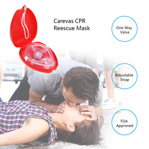 Portable CPR Resuscitator Mask