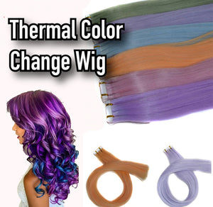 Thermal Color Change Wig