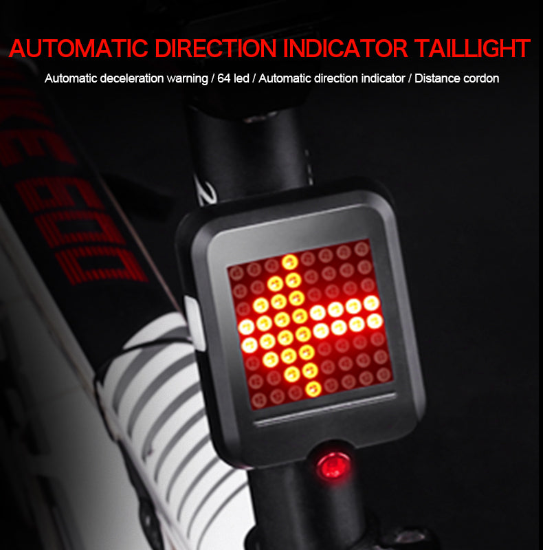 Smart Bicycle Tail Light