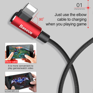 MVP Elbow USB Cable For iDevice