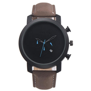 Classic Quartz Leather Watch
