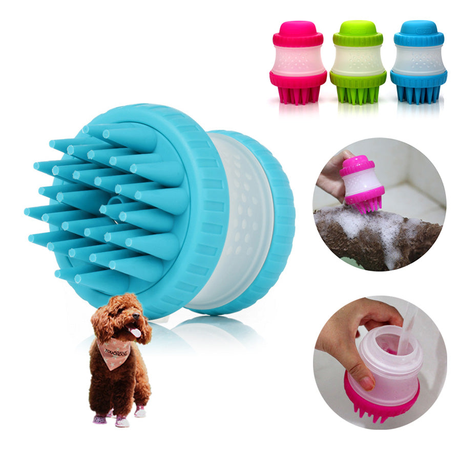 Silicone Pet Bath Brush