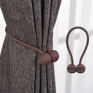Magnetic Buckle Curtain Tieback (2PCS)