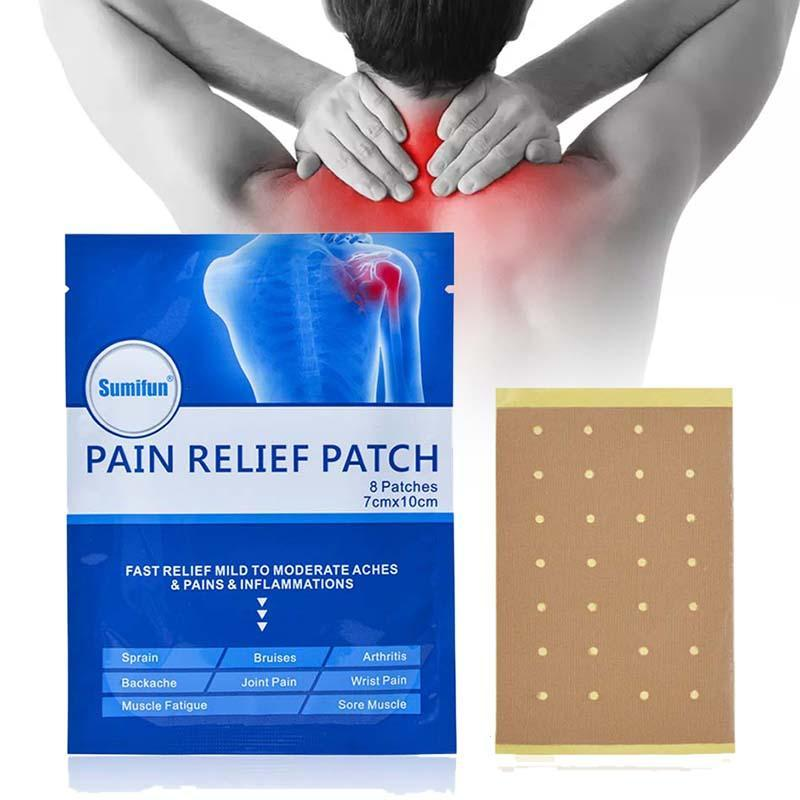 Herbal Pain Relieving Patch (8pcs)
