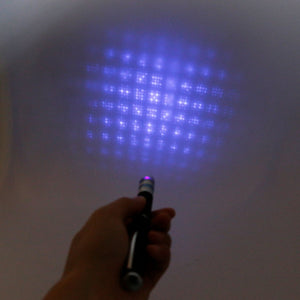 Long Range 6-in-1 Laser Pointer with 5 Starry Style Caps