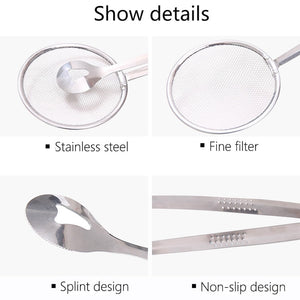 Multi-Function Stainless Steel Frying Strainer