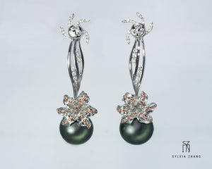 Spring Sunray Earrings 三春晖耳环