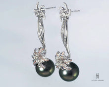 Load image into Gallery viewer, Spring Sunray Earrings 三春晖耳环