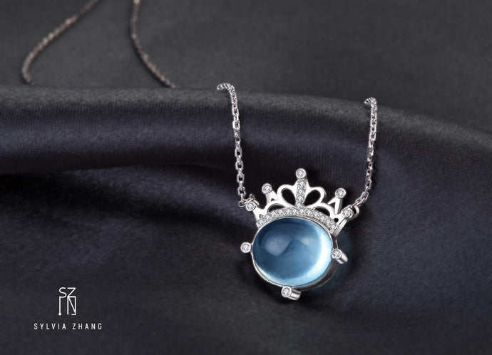 'Goddess of the Sea' Dainty Necklace 海洋女神锁骨链
