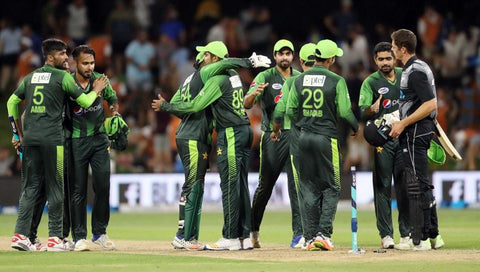 Pakistan sealed the T20 series in 2018