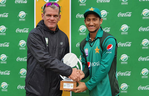 Rohail Nazir receives trophy