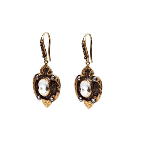 """Drama-Bonding"" • Delicate Drop Earrings"