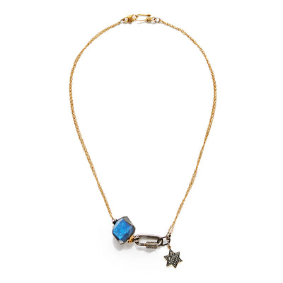 "HARPER HALLAM • ""My Sky Full of Stars"" Necklace & Diamond Star Charm"