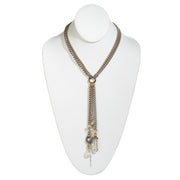 STRONGER THAN DIAMONDS • Multistrand Diamond Lariat • HH UnBasic Woman Series