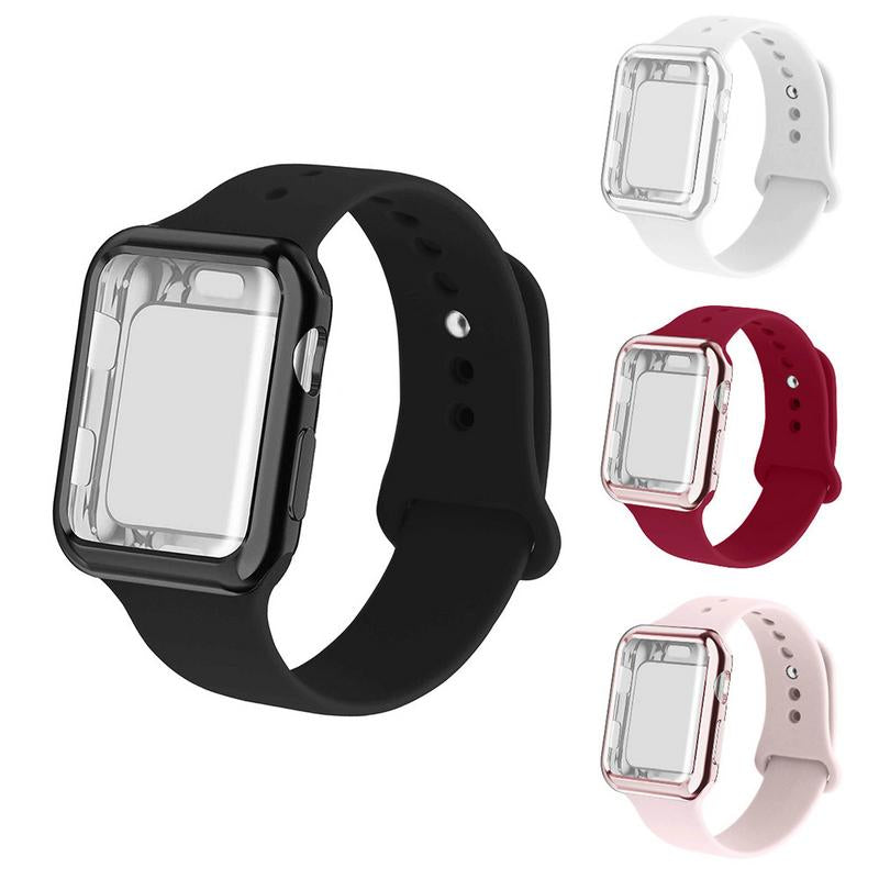 buy online 8f490 0fa17 Band and Shockproof Case for Apple Watch Series 1/2/3/4