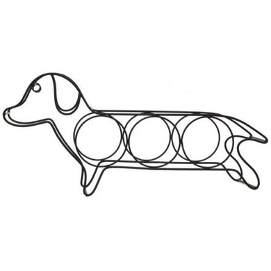 Dog 3 Bottle Wine Rack