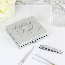 Load image into Gallery viewer, Personalised Perfectly Polished Manicure Set