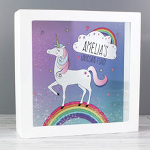 Load image into Gallery viewer, Personalised Unicorn Fund Box