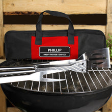 Load image into Gallery viewer, Personalised Stainless Steel BBQ Kit