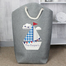 Load image into Gallery viewer, Personalised Sailboat Storage Bag