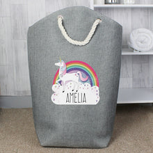 Load image into Gallery viewer, Personalised Unicorn Storage Bag