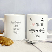 Load image into Gallery viewer, Personalised Cat Features Mug