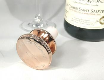 Rose Gold Wine bottle stopper
