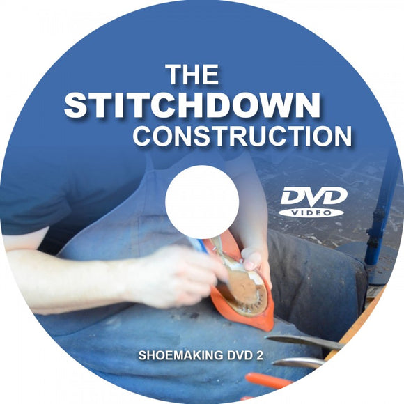 Marcell Mrsan DVD: The Stitchdown Construction