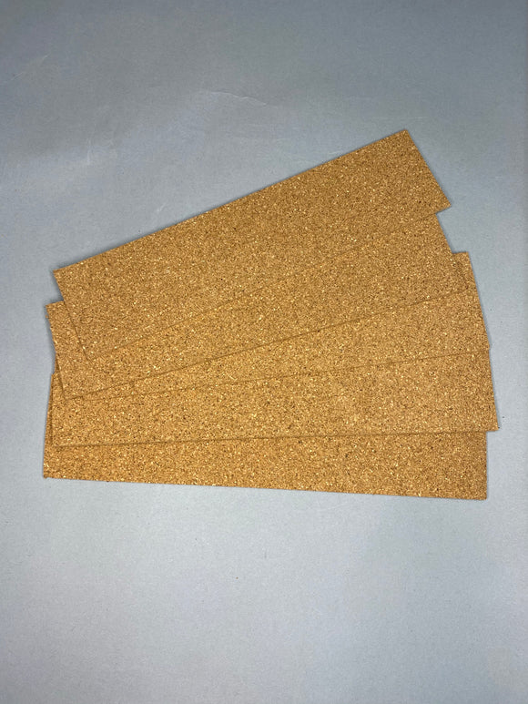 "Cork Sheets 1/8"" thick 5-pack"