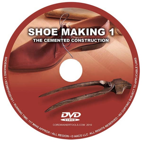 MARCELL MRSAN DVD: Shoemaking 1 Cemented Construction