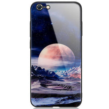 Load image into Gallery viewer, Space Shockproof Tempered Glass Case For Iphone