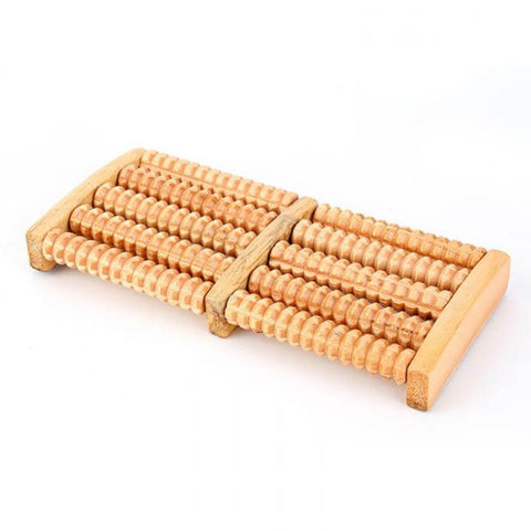 Image of Newly 5 Rows Wheel Wooden Massager 2019