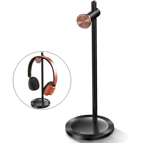 Image of Multifunctional Metal Headphone Holder