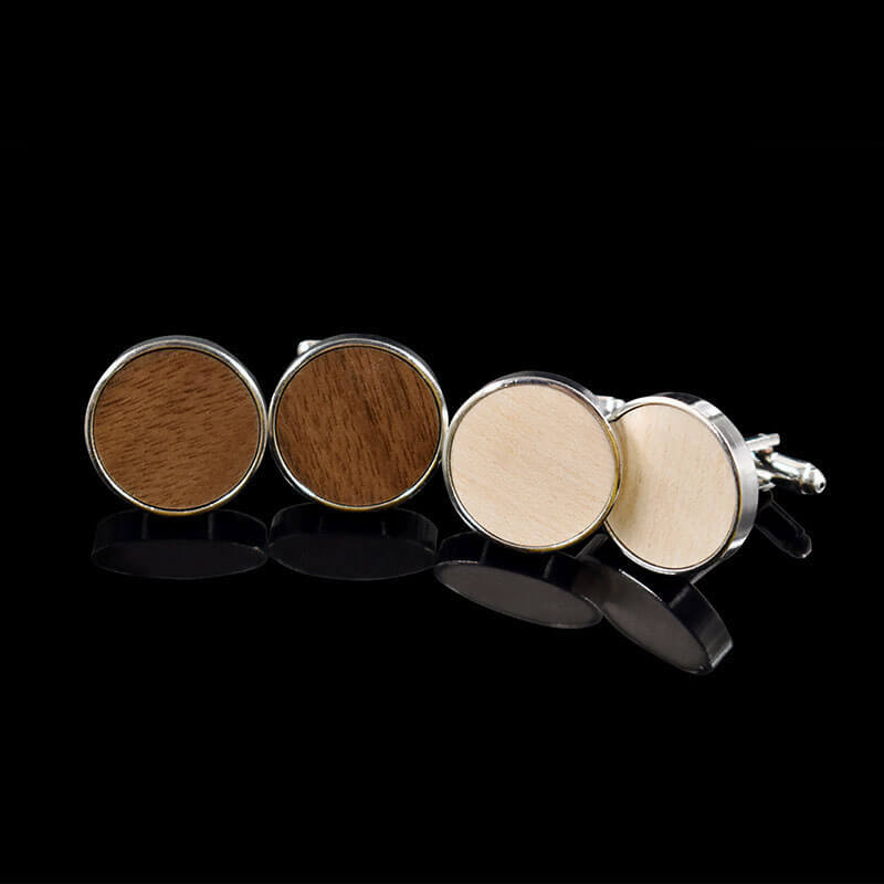 Wooden Cufflinks For Men
