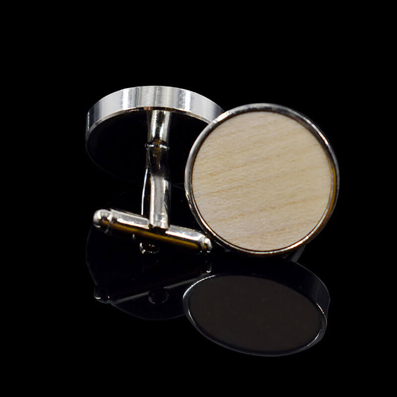 wood cufflinks gift for men