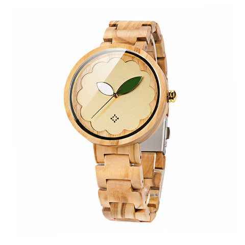 Image of Parrot wood watch 3
