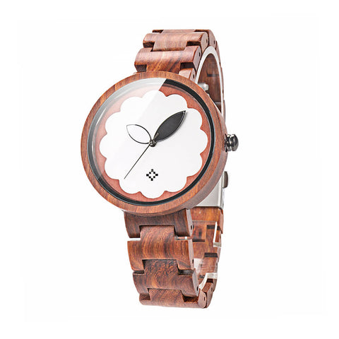 Image of Parrot wood watch 4
