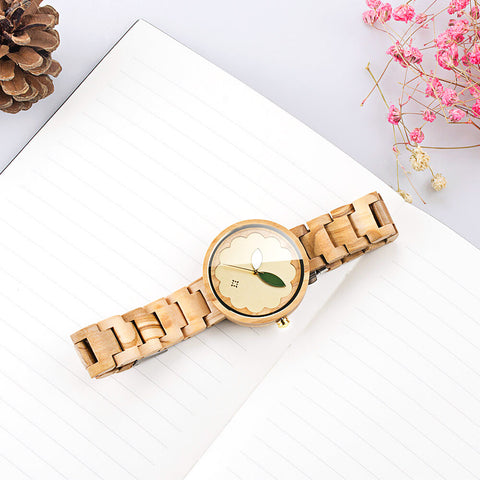 Image of Parrot wood watch 5