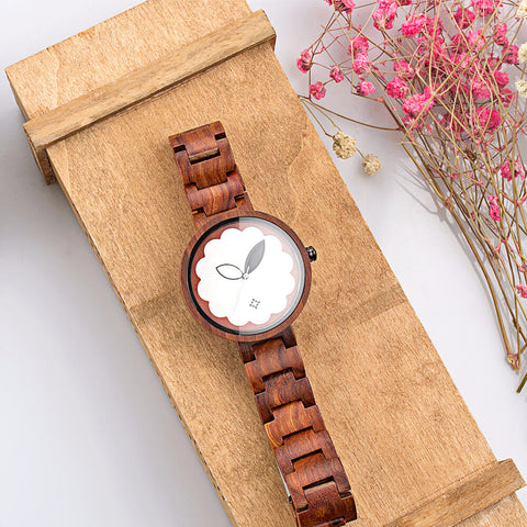 Image of Parrot wood watch 6