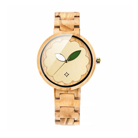 Image of Parrot wood watch 7
