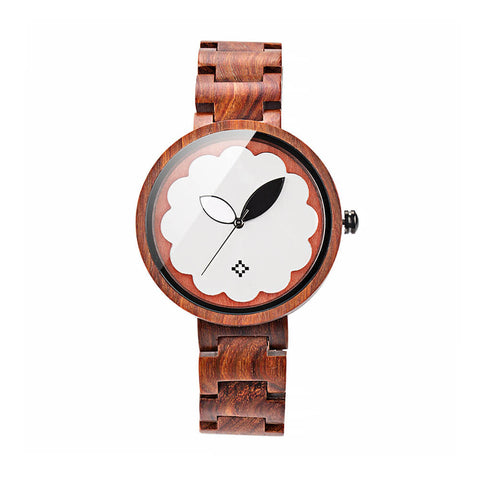 Image of Parrot wood watch 8