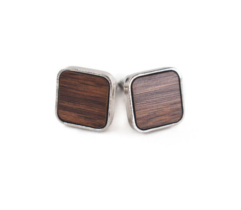 Image of Wood Cufflinks