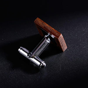 Square Wooden Cufflinks